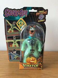 Scooby Doo Stretch Halloween Unreleased Action Figure & Card Trade Sample Rare