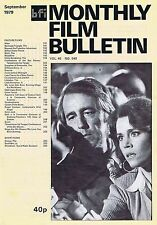 JANE FONDAMonthly Film BulletinSep1979