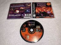 Shadow Master (PlayStation 1, 1997) PS1 Black Label Complete LN Perfect Mint!