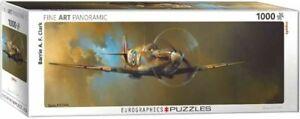 Eurographics Puzzle 1000 Piece Jigsaw Spitfire by Barrie A.F. Clark EG60100952