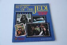 Star Wars Return of the Jedi 1983 Sticker Album - Incomplete