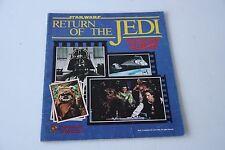 Star Wars Return of the Jedi 1983 Sticker Album - Incomplete