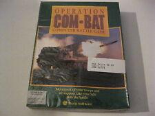 "Operation Com-Bat Combat PC game 5.25"" 3.5"" disks sealed box Merit Software"