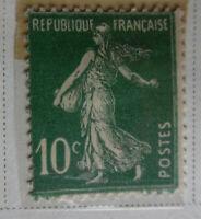 France 1906-37 Stamp 10c MNH Stamp StampBook1-39