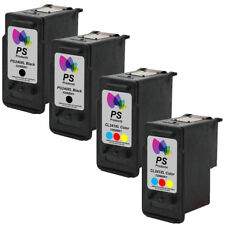4-Pack PG-240xl CL-241xl Black Color Ink Cartridges for Canon MX392 MX432 MX439