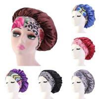 Soft Pure Silk Sleeping Cap Night Sleep Hat Hair Care Scarves NEW For Woman A3E8
