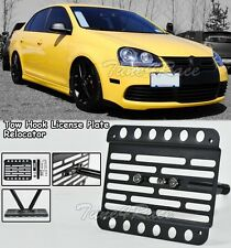 05-10 Volkswagen Jetta A5 TDI Cup Body Front Tow Hook License Plate Bracket