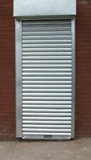 COMMERCIAL DOORWAY ELECTRIC POWDER SECURITY ROLLER SHUTTER / GARAGE DOORS
