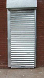 STANDARD DOORWAY ELECTRIC POWDER SECURITY ROLLER SHUTTER DOORWAY
