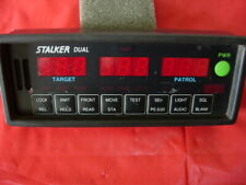STALKER DUAL POLICE RADAR PUSHBUTTON FACEPLATE ONLY!