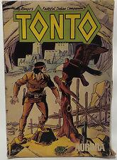 Lone Ranger: 1974 Aurora tonto Vintage Kit Modelo en Caja. escala 1/10 (mlfp)