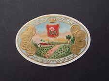 Ancienne étiquette BOITE DE CIGARE Plantation old box cigar label