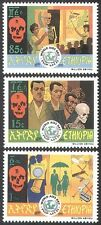 Ethiopia 1991 AIDS/Medical/Health/Welfare/Skeleton/Nurse/Doctor 3v set (n28426)