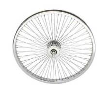 "LOW RIDER LOWRIDER BIKE BICYCLE 20"" 72 Spoke Front Wheel 14G Chrome"