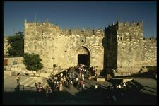 122006 Damascus Gate Another Popular Entrance To Old Jerusalem A4 Photo Print
