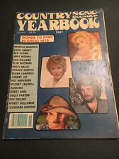 Country Song Roundup Yearbook 1981