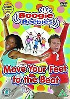 Boogie Beebies - Move Your Feet to the Beat [DVD], New, DVD, FREE & FAST Deliver