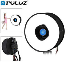 Ring Softbox Speedlight Round Style Shoot Soft Box Foldable Flash Light Diffuser