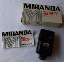 Miranda 500 - CD Multi-Dedicated Camera Flash Boxed + Instructions VGC