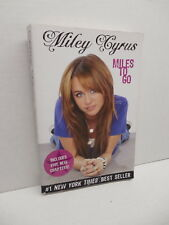 Miley Cyrus Disney Hyperion Book Miles To Go Hannah Montana Actress Performer
