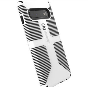 Speck Candy Shell Grip Phone Case  Samsung Galaxy S10 White & Black