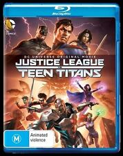 Justice League Vs Teen Titans (Blu-ray, 2016) NEW