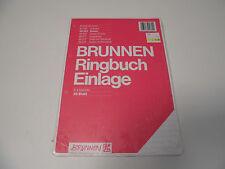 Brunnen Din A4 Ringbucheinlage liniert 66501