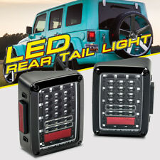 2X LED Tail Lights Reverse Rear Brake Turn Signal For 2007-2018 Jeep Wrangler JK