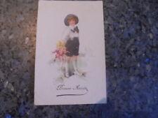 beau lot de huit carte postale ancienne enfantine.......