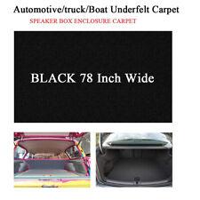 Automotive Trunk Liner Upholstery Carpet Anti Wear Replace Under Felt 60