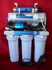 Osmosi inversa 6 STADI depuratore acqua purificatore con lampada UV 6 w Philips