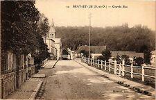CPA  Bray-et-Lu - Grande Rue  (380346)