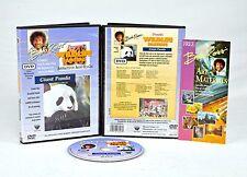 BOB ROSS DVD: WILDLIFE Painting - GIANT PANDA w/ BEA COX, + Oil Mediums DVD