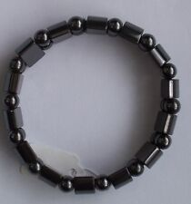 Black Magnetic Hematite BRACELET for Pain Therapy, Arthritis...NEW...Adjustable