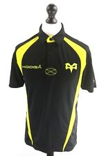 KOOGA OSPREYS Mens Rugby Polo Shirt S Small Black Polyester
