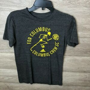 Adidas Youth Medium Heathered Black Columbus Crew SC Hispanic Heritage T-Shirt