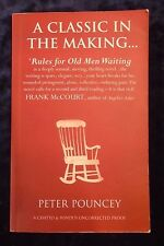 A CLASSIC IN THE MAKING by PETER POUNCEY - CHATTO & WINDUS UK POST £3.25*PROOF*