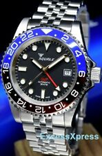 """NEW Squale 1545 30 Atmos BLUE/RED """"Pepsi"""" GMT Ceramica Watch Warranty - MKII"""
