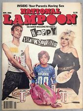 VINTAGE NATIONAL LAMPOON MAGAZINE 1980 Nov. SPORTS ISSUE - Ships Free & Fast