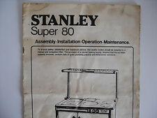Genuine STANLEY SUPER 80 (solo manuale)