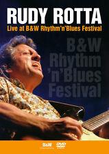 DVD Rudy Rotta Live At B&W Rhythme Festival