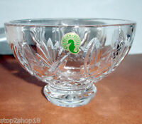 "Waterford Irish Crystal Footed 6"" Bowl #136762 Made in Ireland New"