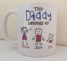 Daddy/Dad Grandad Stepdad Uncle, Godfather Brother Personalised Mug Birthday