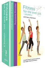 Fitness for the Over 50's Box Set DVD Balance Stretching Exercises Gift Idea NEW