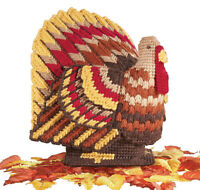 Mary Maxim 3D Turkey Plastic Canvas Kit