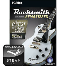 ROCKSMITH 2014 EDITION REMASTERED PC AND MAC STEAM KEY