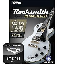Rocksmith 2014 Edition Rimasterizzato PC e MAC chiave a vapore