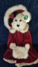 "NEW & RARE Bearington Christmas Bear MISSY MISTLETOE 16"" Retired 2001 #1168"