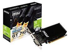 Tarjetas gráficas de ordenador disipadores NVIDIA GeForce GT 710 con conexión Salida DVI
