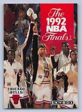 1992-93  MICHAEL JORDAN Skybox CHICAGO BULLS NBA FINALS Basketball Card # 318